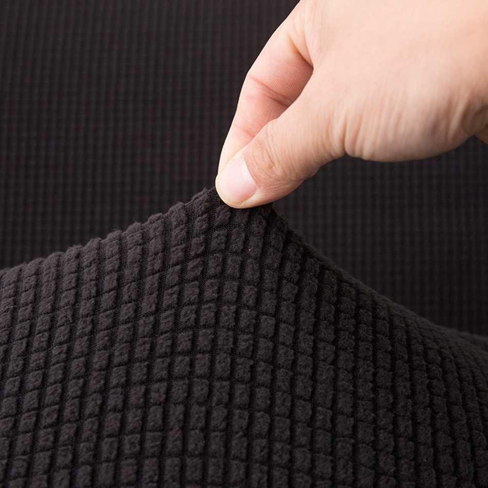 Черный зимний плюшевый диван полотенце плотно обёрточная бумага все включено скольжению чехол для дивана эластичный без с подлокотниками Складная чехол для дивана