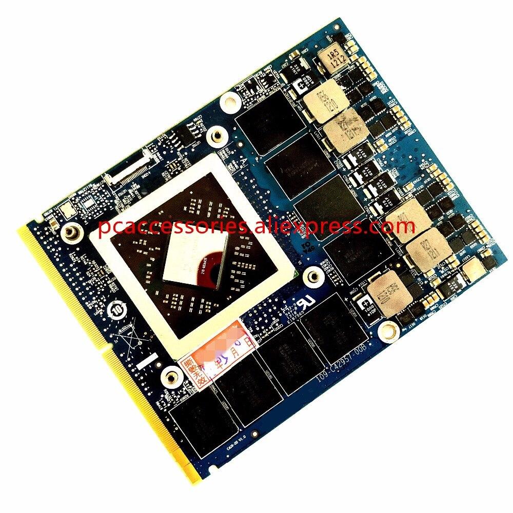 Ou D e l l Alienware M17X M18 M18X R1 R2 R3 Ordinateur Portable un M D Radeon HD 7970 M Crossfire GDDR5 2 GB Graphique Lecteur De Carte Vidéo cas