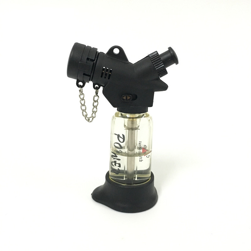 Image 5 - Compact Jet Butane Cigar Lighter Torch Gas Cigarette 1300 C Fire Windproof Turbo Lighter No Gas-in Matches from Home & Garden