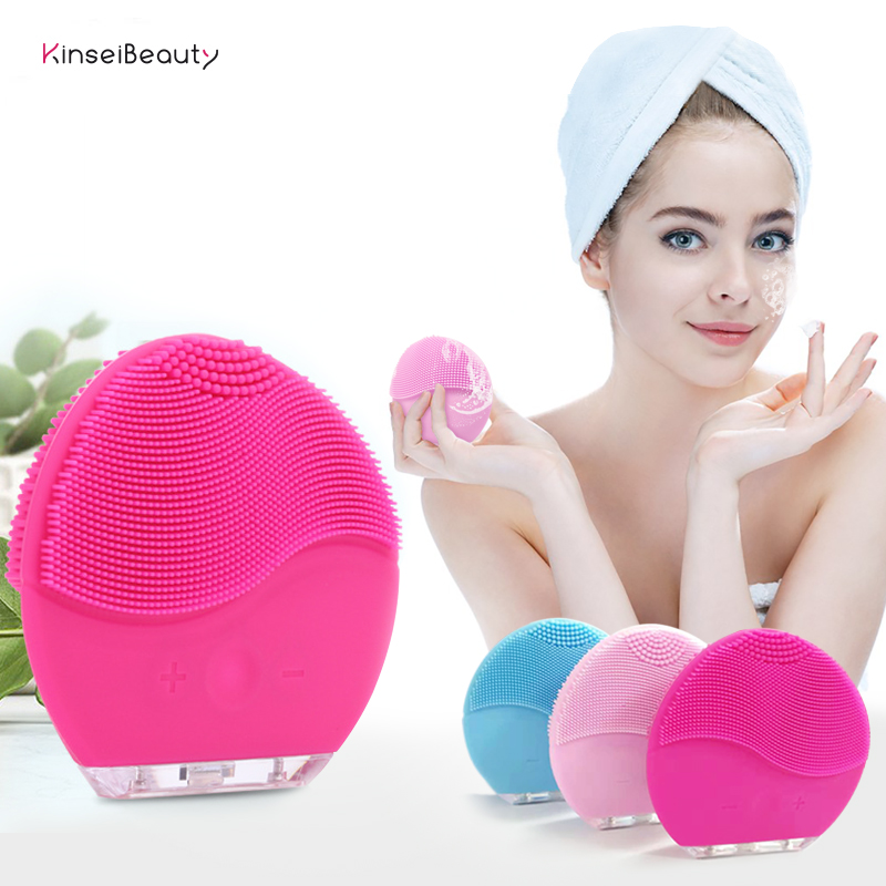 Facial Cleansing Brush Sonic Vibration Mini Face Cleaner Silicone Deep Pore Cleaning Electric Massage Luna Mini 2 BrushFacial Cleansing Brush Sonic Vibration Mini Face Cleaner Silicone Deep Pore Cleaning Electric Massage Luna Mini 2 Brush