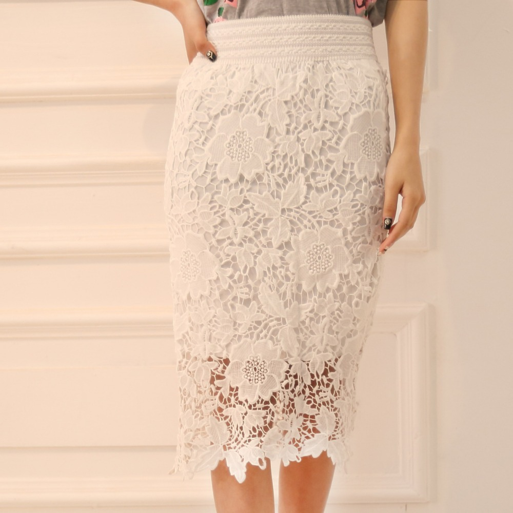 Popular Lace Pencil Skirt-Buy Cheap Lace Pencil Skirt lots from ...