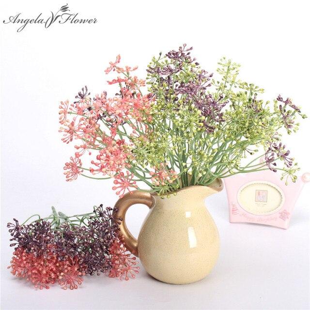 5d90c90c53 Material de pared de planta de flores artificiales para escritorio de Casa  cerca maceta planta organizar