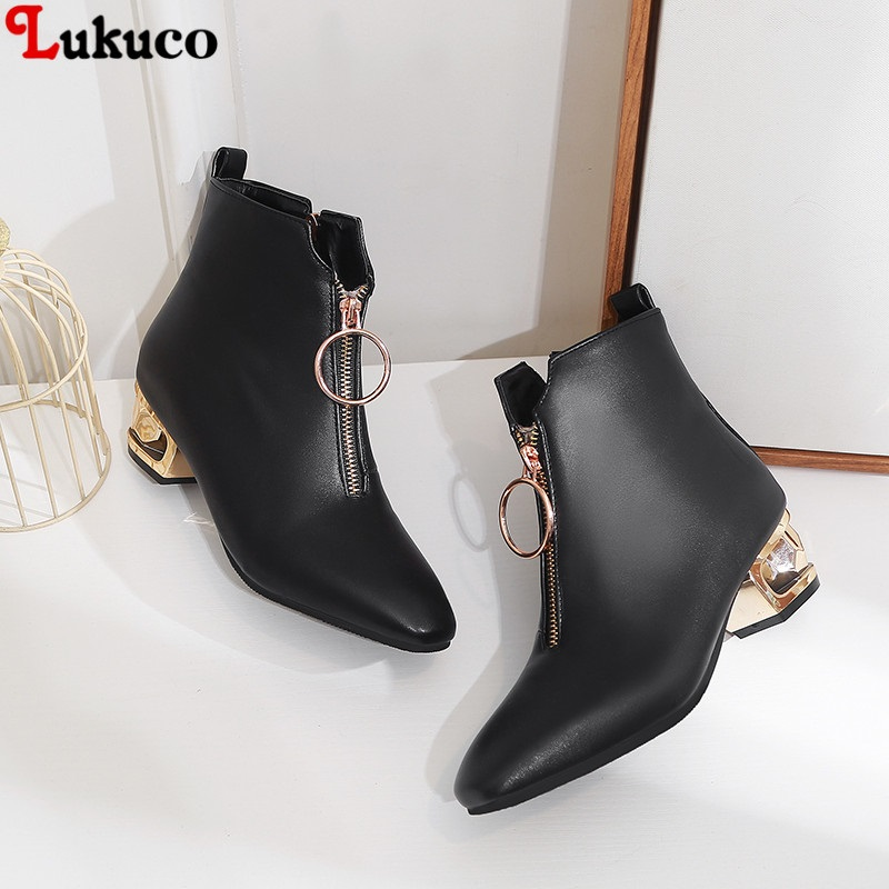 Lukuco 2018 Women Snow Boots Classic Winter Botas Large Size 43 44 45 46 47 48 Warm Fur Insole Handmade High Quality Shoes Woman 2019 lukuco winter warm plush women boots oversize 38 39 40 41 42 43 44 45 46 high quality botas custom handmade pu lady shoes