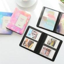 64 Pockets Starry Sky Photo Book 3 Inch Album For Fujifilm Instax Mini Films Album Mini 9 8 7s 90 70 25 Name Card Holder