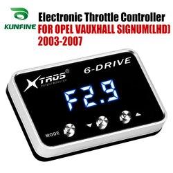 Elektroniczny regulator przepustnicy Racing akcelerator wspomagacz dla OPEL VAUXHALL SIGNUM (LHD) 2003-2007 części do tuningu