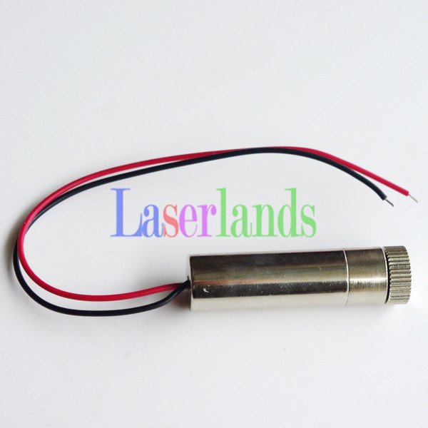 Industrial Focusable 5VDC 780nm 120mW Infrared IR Laser DOT Diode Module 20mw 780nm focusable infared laser diode module dot dia 12x35mm dc3 5v
