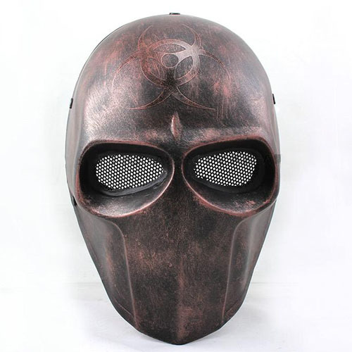 FMA Airsoft Wire Mesh Army Of Two Biochemical Full Face Mask Wholesale And Retail Free Shipping