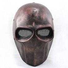 FMA страйкбол проволочная сетка армия из двух биохимических полный маска для лица оптом и в розницу