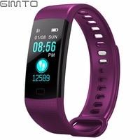 GIMTO Women Bracelet Smart Watch Bluetooth Sport LED Wristband Heart Rate Blood Pressure Step Clock Intelligent