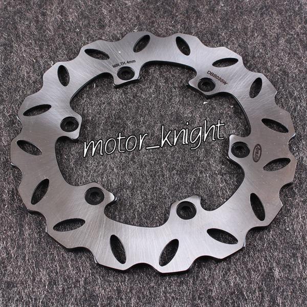 Rueda de disco de freno trasero para motocicleta Yamaha DT R 125 YZ250 360 YZF 400 WR F 400 TTR 600