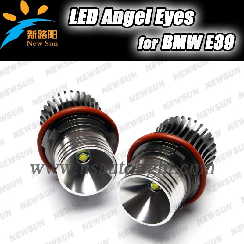 Free sgipping Latest New 12V 20W LED Marker Car Angel Eyes Bulb for BMW E39 E53 E61 E64 E65 E66 E87 Led headlight bulbs