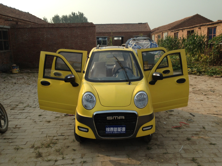 78 Fully Enclosed Four Wheel Electric Car Old Age Scooter