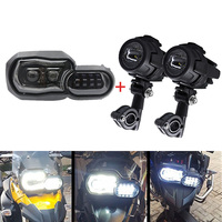 For BMW F800GS F800R F800ADV Full LED Projector Motorcycle Mount Headlight for BMW F700GS Adventure 2013 2014 2015