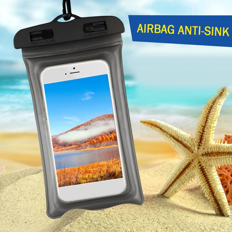 Portable Diving Cell Phone Accessories Outdoor Sports Fashion Mobile Waterproof Bag Sporting Goods