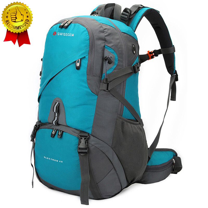 2019 New Men Women Travel Backpack Professional Mountaineering Backpack Waterproof Computer Bag Hiking Cycling With Rain