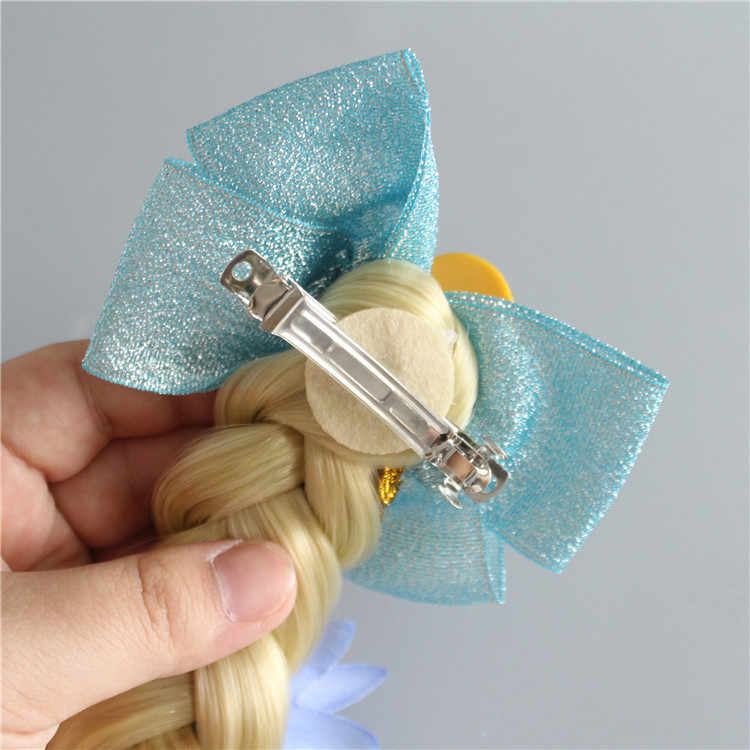 Милый Essar принцесса коса парик весна зажим головной убор День рождения Косплей Аксессуары для волос Детская повязка на голову девушка шпилька