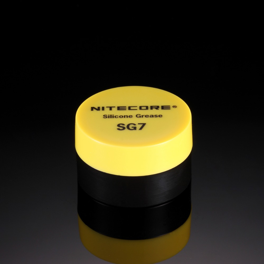 2017 New NITECORE SG7 Flashlight Silicone Grease (5g)Torch Maintenance Greases Oils accessories 1 Piece Hot Selling