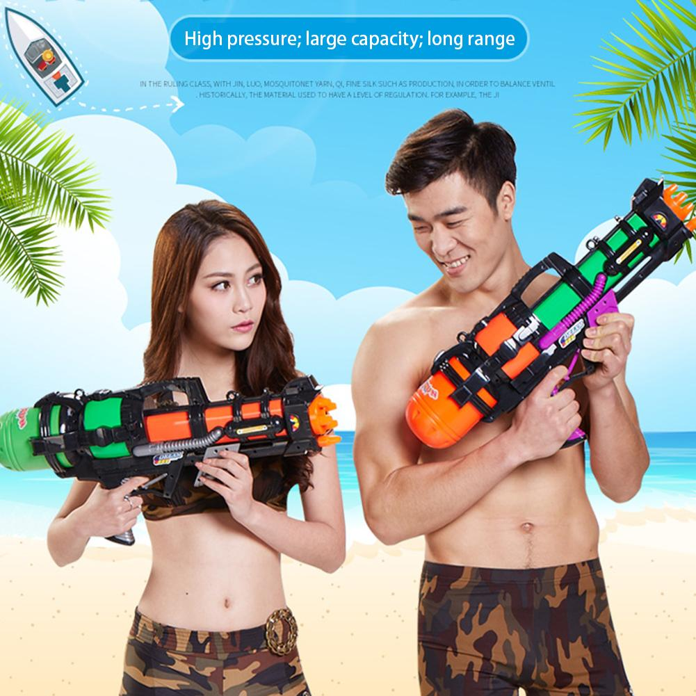 Large High Pressure Water Gun Toy Backpack Water Gun Beach Toy Swim Summer Hot Toy Water Gun &High Pressure Adult Water Gun