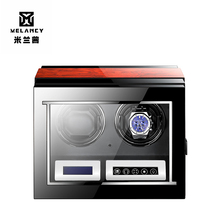 Оптовая продажа, высококачественные китайские автоматические часы, зеркальные часы с вращением по дереву