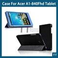 Для Acer A1-840 чехол smart крышка чехол для Acer Iconia датчик цели и фона 8 A1 840 FHD чехол + экран защитные