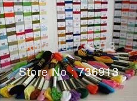 Total 600 Pieces Cross Stitch Embroidery Thread Floss Yarn Similar DMC--Choose Any Colors Freely