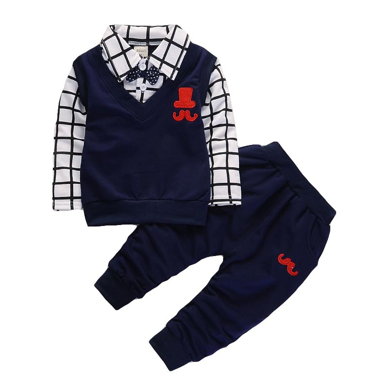 spring autumn Baby Boy Clothes Set Children Clothing Sets Products Kids Clothes Baby Boys T-shirts+Pants 2PCS Tracksuit