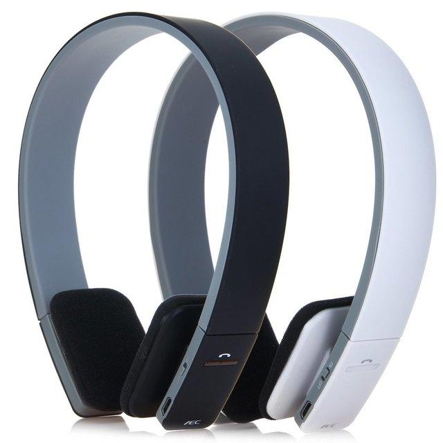 AEC BQ-618 Bluetooth Headphones Wireless Headphones Handsfree with Intelligent Voice Navigation for Cellphones Tablet Headset