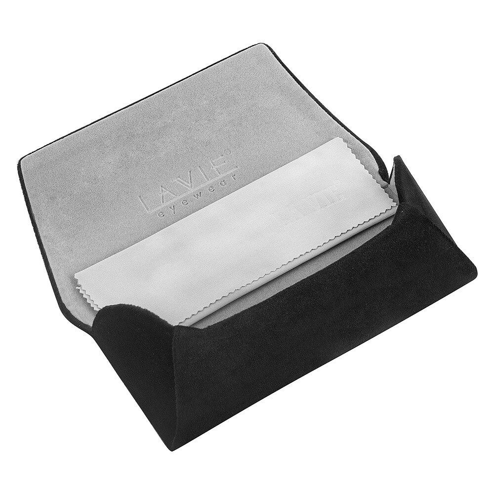 Cómodo pelusa tela caja de vidrios marco metálico duro caja de gran ...