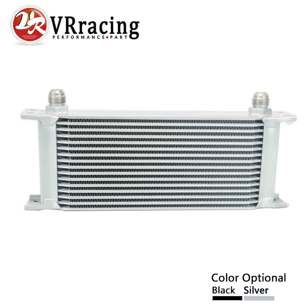 VR RACING - 16 ROW AN-10AN UNIVERSAL ENGINE TRANSMISSION OIL COOLER VR7016 vr racing 16 row an 10an universal engine transmission oil cooler vr7016 2
