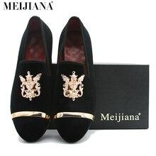 Estilo europeo hombres zapatos de boda MEIjiana Marca punta estrecha zapatos de cuero caballero negocio clásico