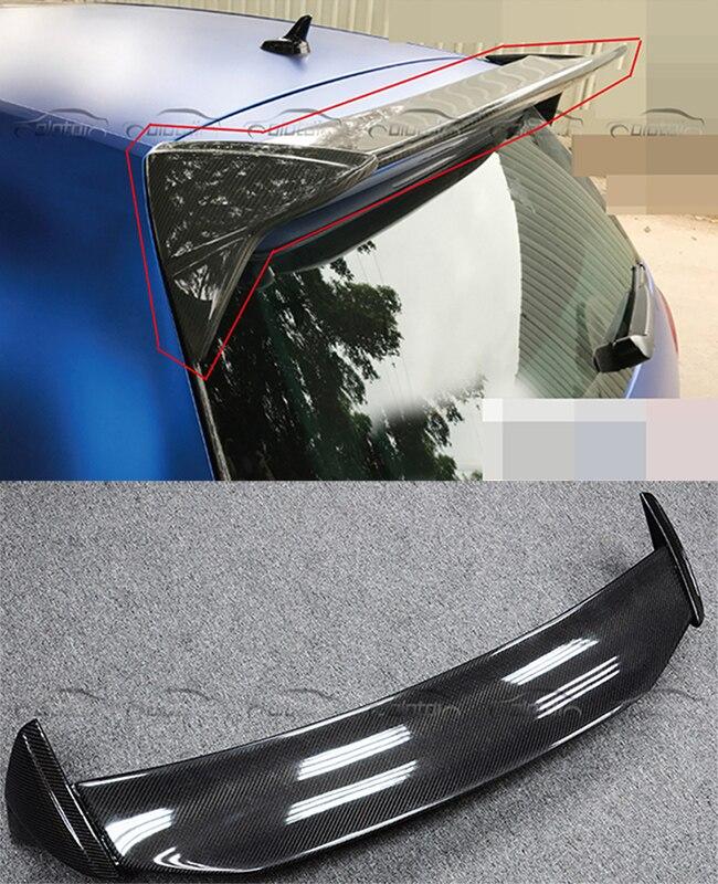 Aspec Stile Styling Auto In Fibra di Carbonio Baule Posteriore del Tetto Ala Spoiler Fit Per Volkswagen VW Golf VII 7 MK