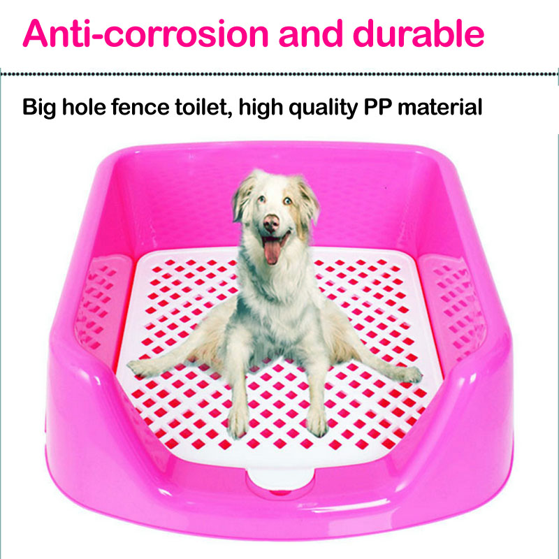 Pet Toilet Portable Dog Litter Tray Puppy Loo Training Pad