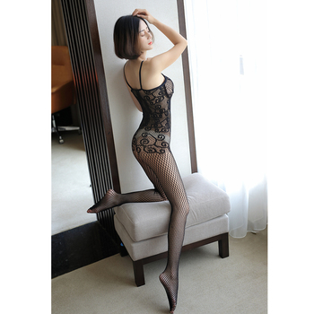 Sexy Mesh Novelty & Special Use Sexy Clothing Sexy Underwear Exotic Apparel Jumpsuit Full Body Stockings Teddies & Bodysuits 4