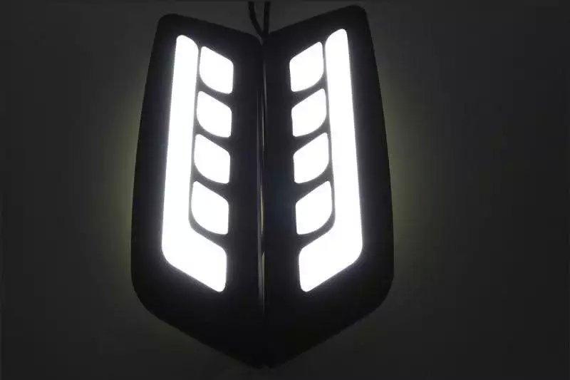 Новое прибытие светодиодные фары дневного света противотуманные фары для Форд рейнджер 2012-15, 100% водонепроницаемый, направляя свет дизайн, высокое качество
