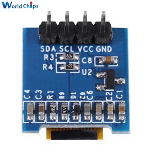 """Image 4 - diymore White 0.49 inch OLED Display Module 64x32 SSD1306 0.49"""" Screen I2C IIC Super Bright for Arduino AVR STM32"""
