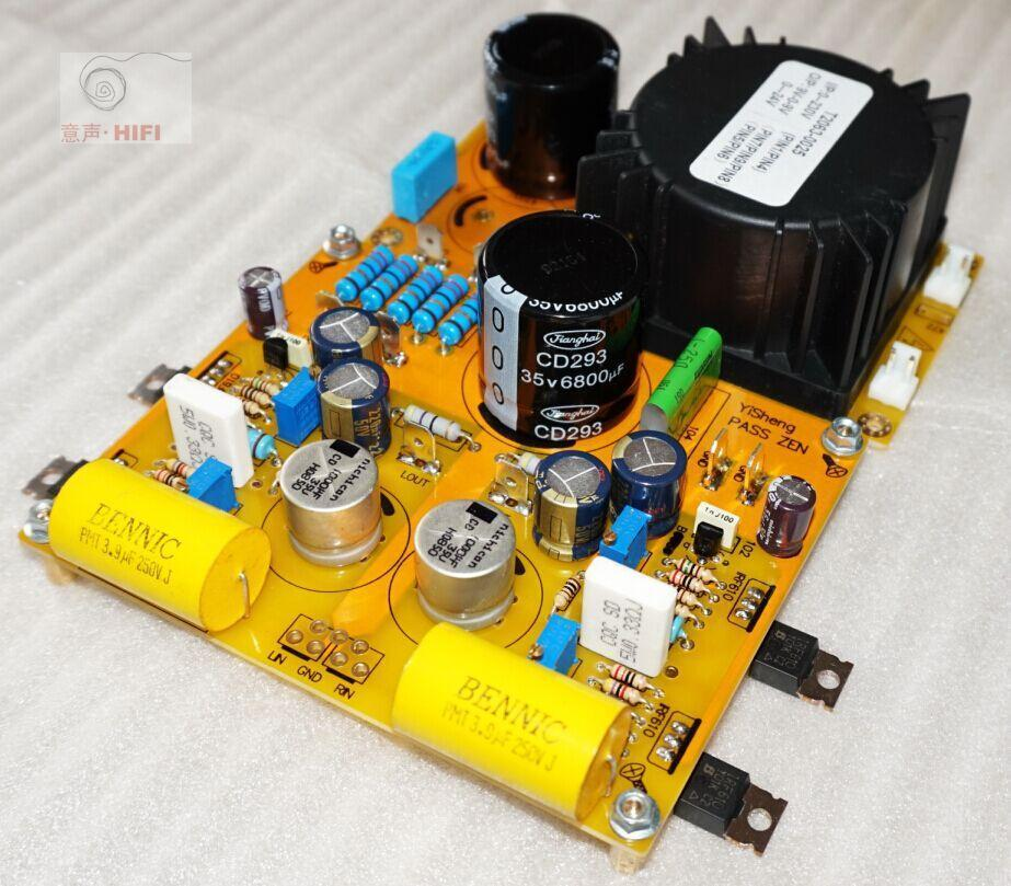 NEW Sep_store Assembled PASS ZEN Class A Single-ended headphone amp board 5W amp douk audio pass zen single ended class a amplifier hifi amp board free shipping