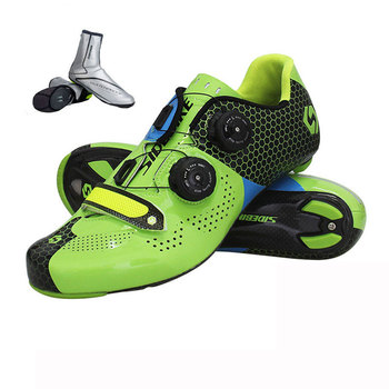 57abbfde3 Sidebike profesional fibra de carbono ciclismo zapatos mujeres hombres  auto-bloqueo carretera bicicleta carreras zapatos ultraligero bicicleta  zapatillas ...