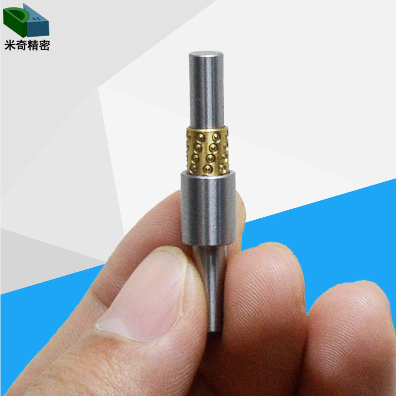 Miniature Ball Bearing Guide Sets Standard Type, Straight One End Tapped Pipe Type diameter 6mm 8mm 10mm 12mm,length 50 100mm