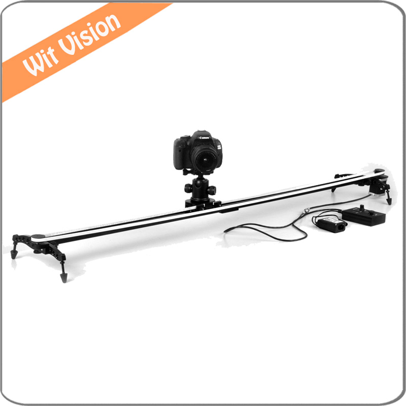 Electronic Motorized Camera Track Video Slider for Cinema film and Time lapse literature and cinema