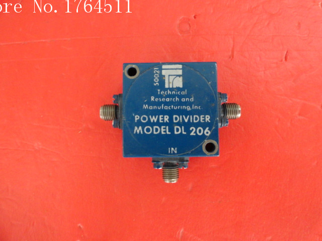[BELLA] TRM DL206 5-680MHz A Two Supply Power Divider SMA