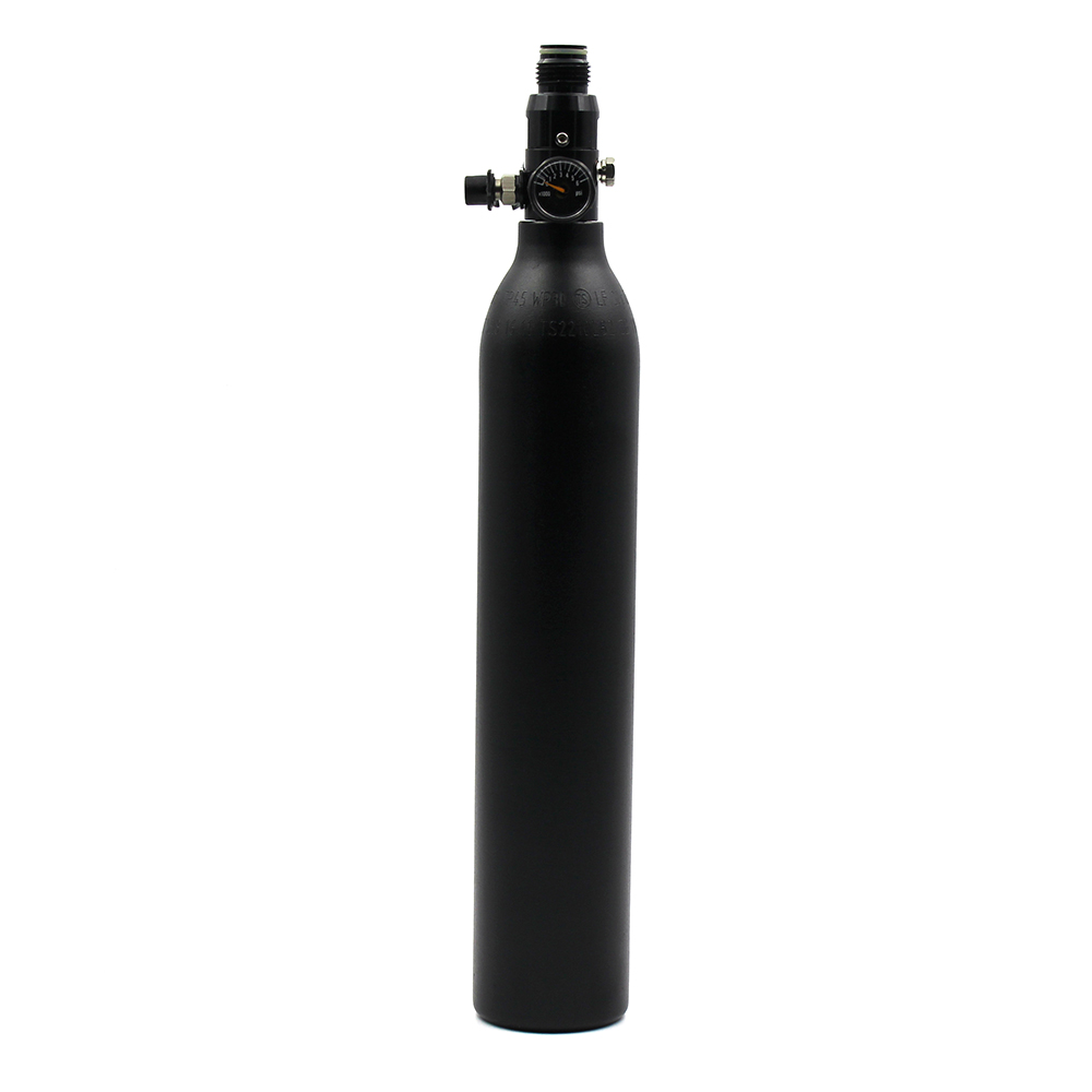 PCP Paintball Ауа резервуары 0.2L / 0.35L / 0.45L HPA - Ату - фото 4