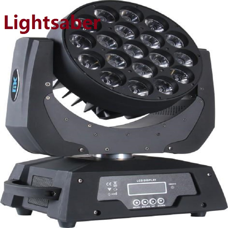 4 in 1 19*12W RGBW LED moving head Light Zoom Beam wash Light fixture stage lighting DMX512 effect FOR DISCO KTV Bar CE ROHS  high quality 9x10w rgbw led spider beam moving head light for disco dj bar club led beam wash light dmx effect stage lighting