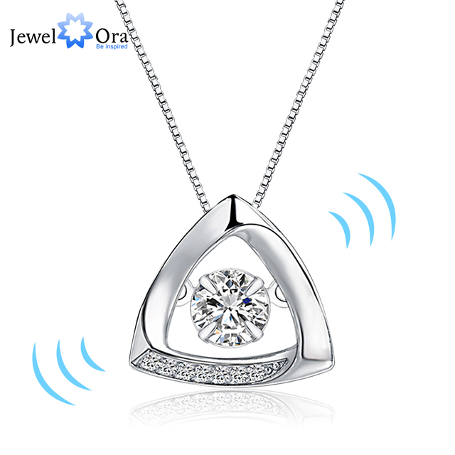 jewellery store top triangle pendant that with necklace