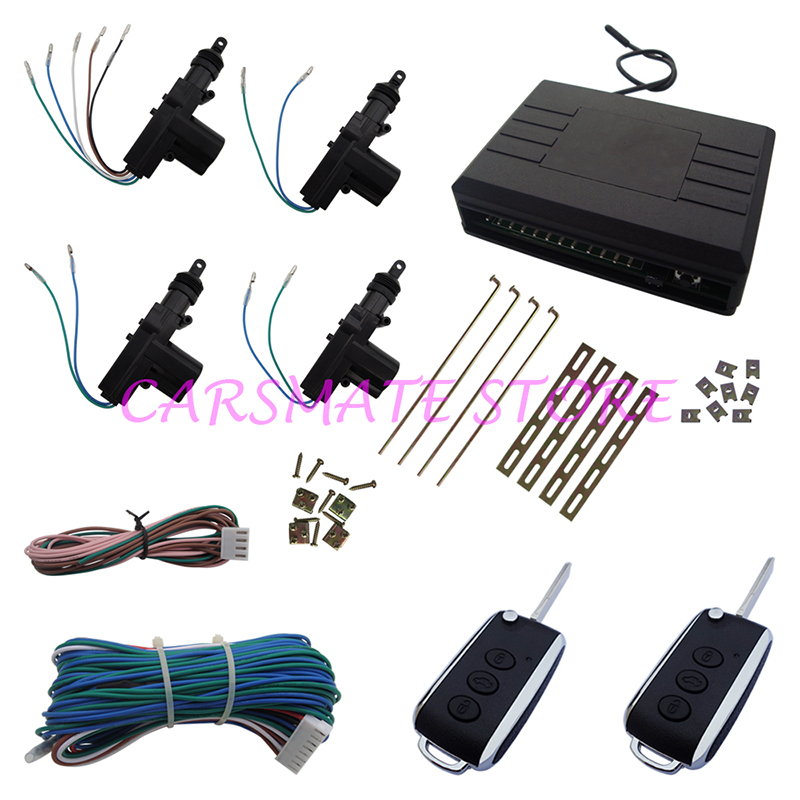 Quality Car Central Door Locking System Suitable for DC 12V Cars Many Blank Keys Are Sel ...