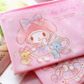 Kawaii My Melody Travel Storage Bags Organizer For Girls Waterproof Comestic Bag for Girls Gifts kids Pencil Box