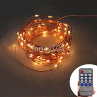 Remote Control 20M 200 LED 12V String Light Christmas Wedding Party Festival Decoration Lights Waterproof Holiday LED Lighting