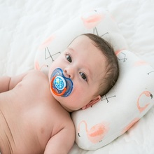 Giol Me Num Baby Pillow Newborn Baby Pillow Baby Positioner Anti Roll Flat Head Pillow For 0-2 Years Kids Size 21X32cm 104G