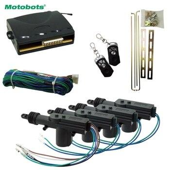 MOTOBOTS Araba 4-door Uzaktan Merkezi Kilitleme Anahtarsız Giriş Sistemi # CA1278