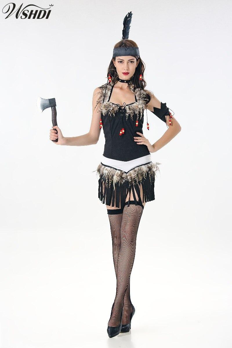 Wild West Native American Female Adult Costume