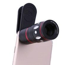 10X зум Алюминий Универсальный ручная фокусировка телефото телескоп Телефон Объективы для фотоаппаратов объектив клип на универсальный для смартфонов l3fe
